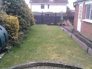 Garden W Before 1