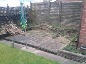 Garden W Before 3