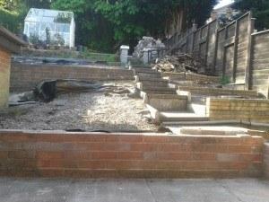 Garden A Before